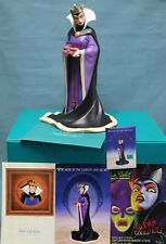 """WDCC the Evil Queen """"Bring Back Her Heart"""" from Snow White NIB COA + pin & cards"""