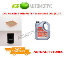 PETROL OIL AIR FILTER KIT + FS 5W40 OIL FOR NISSAN MICRA 1.4 88 BHP 2003-10