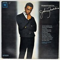 "JOHNNY MATHIS   ""Romantically""   Vinyl LP   Columbia Records CL2098"