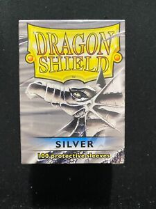 Dragon Shield Silver 100 ct. Protective Sleeves New Sealed