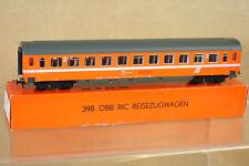 Kleinbahn 398 Obb öbb NARANJA RIC reisezugwagen 2º CLASE exprés Coach 011-5 Ni
