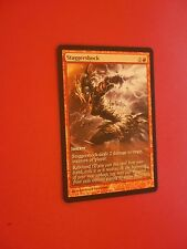 MTG MAGIC CARTE PROMO GAMEDAY STAGGERSHOCK (ENGLISH EBRANLECHOC) NM