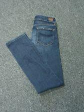 0ce2b436b337f PAIGE Dark Blue Flat Zip Front 5 Pocket Skyline Straight Jeans Sz 28 FF2873