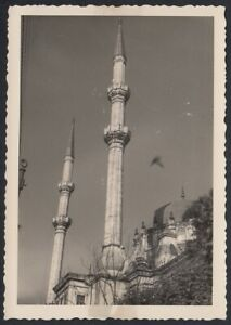 YZ7871 Turkey 1955 - Istanbul - Mosque - Photography Period - Vintage Photo