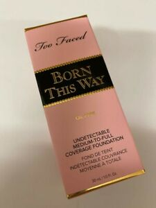 Too Faced Born This Way Oil-Free Foundation 30ml *Warm Nude* Brand New Genuine