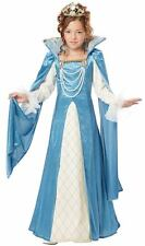 Child Size 8-10 Renaissance Queen Girls Costume - Renaissance Costumes