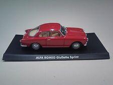 DIE CAST 1/43 ALFA ROMEO GIULIETTA SPRINT  - ITALIAN CAR SOLIDO MODEL IT6