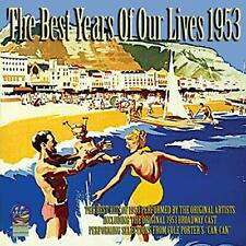 Various-The Best Years Of Our Lives - 1953 Cd New