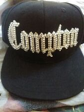 Vintage Compton Starter The Natural Snapback Hat Black Retro 90's L.O.G.A.