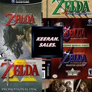 Legend of Zelda GameCube Nintendo * NO GAME * Case Only Reproduction Replacement