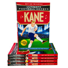 Ultimate Football Heroes Limited Int Edition 5 Books Collection New Gift Pack