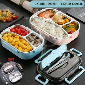 NEU Edelstahl Thermo Lunchbox Brotdose Isolierbehälter Thermobehälter mit Tasche