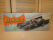 Vintage 1966 Aurora Batman Model Kit No. 486 98 Started With Instructions