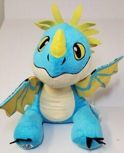 "Stormfly Build A Bear 15"" Plush How To Train Your Dragon 2 Blue Yellow Stuffed"