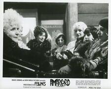 FEDERICO FELLINI AMARCORD  1973 VINTAGE PHOTO ORIGINAL #14