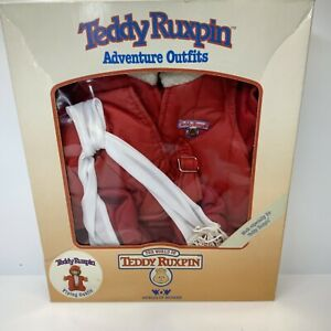 TEDDY RUXPIN FLYING OUTFIT IN BOX WORLDS OF WONDER 1985
