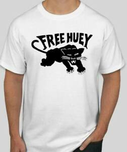 Black Panthers Party panther FREE HUEY  t-shirt protest BLM