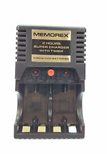 Memorex AA Battery Quick Charge 2hr Rechargeable Batteries AA