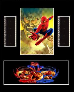 "Spiderman Genuine Original 35mm Film Cell Display 10"" x 8"""