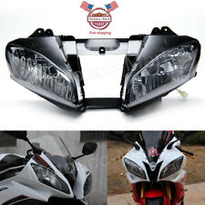 YZF R6 Front Headlight Black Head Lamp Clear Assembly for Yamaha YZFR6 2006 2007