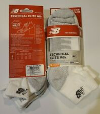 New Balance Technical Elite NBx Running Socks (4 Pack)Medium Unisex