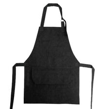 Mens Work Apron Kitchen Restaurant Cafe Baking Chef Waiter Pocket Apron Unisex