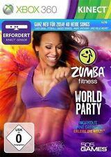 Microsoft XBOX 360 Spiel ***** Zumba Fitness World Party ****************NEU*NEW