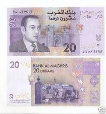 Marocco Morocco  20 dirham  2005   Pick 68   FDS  UNC     lotto 2541