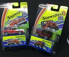 Match Box Superfast  1955 Chevy Bel Air Hardtop and 1960 Jeep