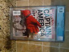 Captain America 25 cgc 9.8 Death of Captain America variant cover