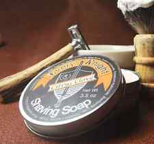 Every Knight Shaving Soap for Men, 3.5 oz -Citrus Clove (Handcrafted in the USA)