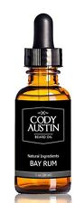 Cody Austin Beard Oil and Conditioner, Bay Rum Scent, Made With Organic Oils