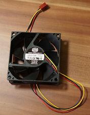 Lüfter CoolerMaster MGT8012MS SLEEVE 12V 0.15A 80x80x25 wie neu TOP! (F4)