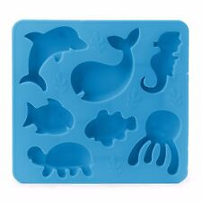 Kikkerland Under the Sea Silicone Ice Cube Tray / Mold