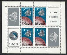 Romania - Mnh Souvenir Sheet - Space Apollo-12 .01N.D 510