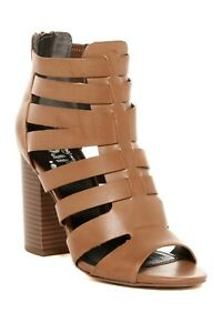 NEW Circus by Sam Edelman York Caged Gladiator Stacked Block Heel 6 Low Ship