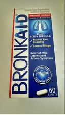 Bronkaid 60ct FAST FREE SHIPPING new in box
