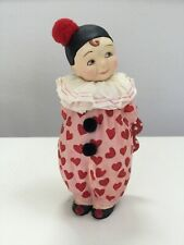 Retired Bethany Lowe Mary Engelbreit Child Clown Figure Valentines Day 7""