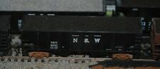 HO scale Walthers N&W 36' rib side uncovered hopper with load