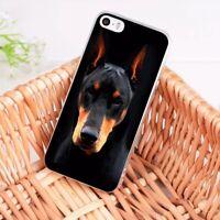Doberman Pinscher Dog Case iPhone 5 5S SE 6 6S 7 8 + plus X XS XR XS MAX