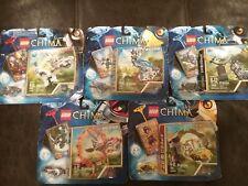 Lego Chima Sets 70100, 70104, 70105, 70106, 70109 Razar, Eglor, Factory Sealed