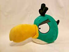 "Angry Birds Toucan Hal Plush Stuffed Animal Green Boomerang No Sound 14"""