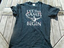 T SHIRT MANCHES COURTES GILDAN LET THE GAMES BEGIN T S TBE A 4€ ACH IMM FP COMP