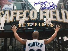 Brian Hunter Autographed 8x10 Photo Signed Picture Seattle Mariners