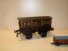 4712) BING uralt - Spur 1 - Personenwagen LNWR - L. 19,5 cm - ansehen