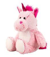 """BRUBAKER Plush Pink Unicorn 19"""" Soft Cuddly Toy Stuffed Animal Gift Kids"""
