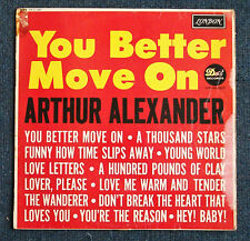 Rare-Arthur Alexander 'You Better Move On' 1962 original Mono vinyl LP