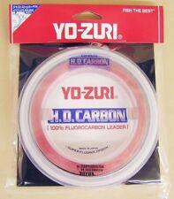 YoZuri Pink 100% Fluorocarbon Leader Line 30yd 100lb HD100LB-DP Big Game R896-DP