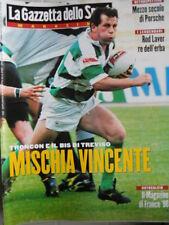 Gazzetta dello Sport Magazine n°25 1998 Rod Laver Re dell' erba [GS.51]