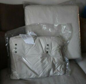 Ikea Arholma Seat Pad & Back Cushion Garden Furniture Chair Light Beige